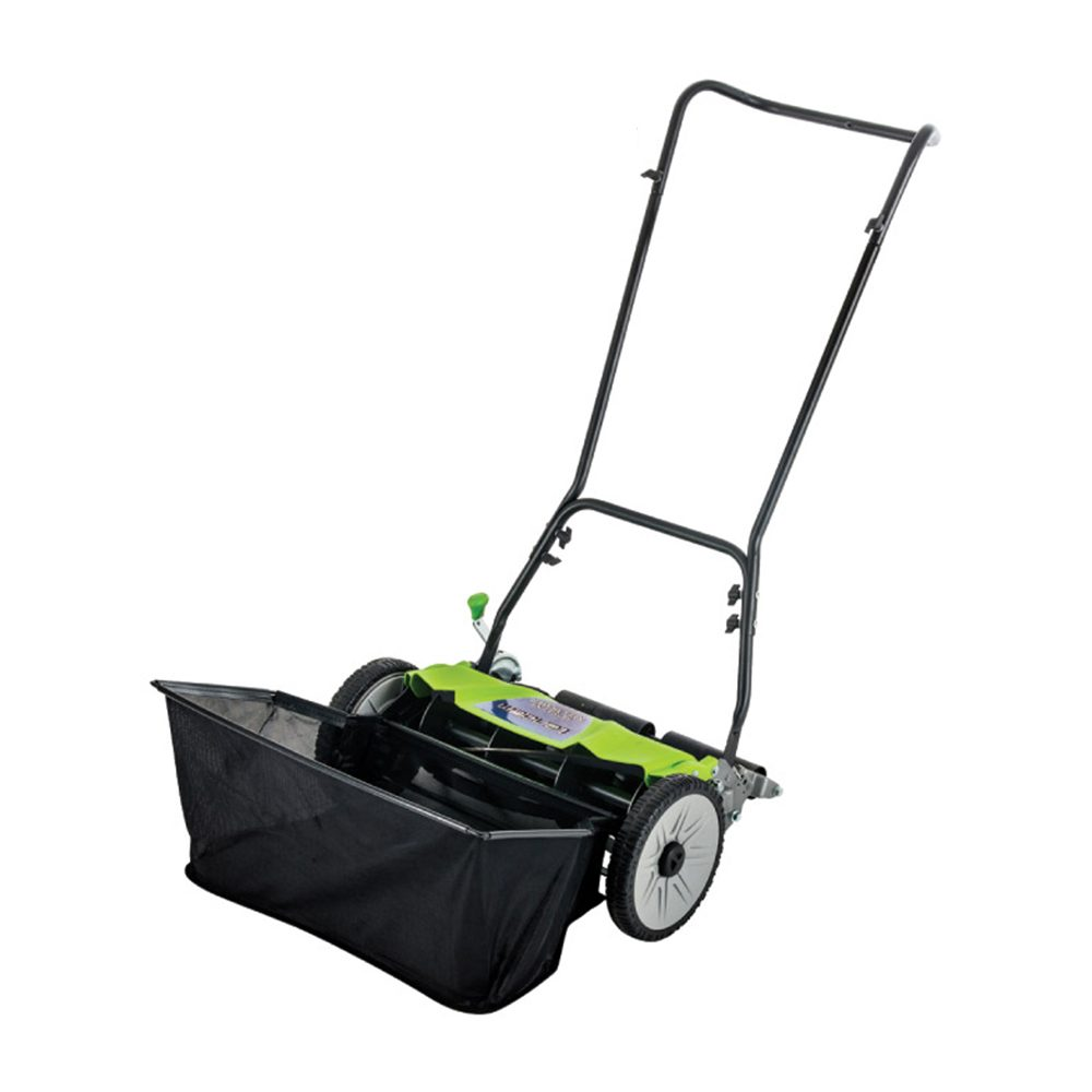 Silent Mower Cylinder Push Mower 18 - Manual Push Lawnmower
